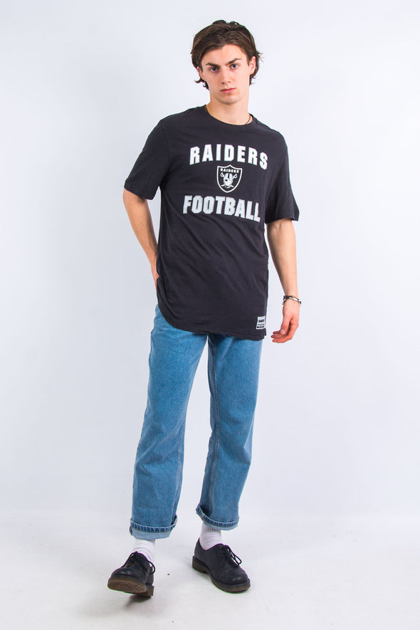 Majestic 00's Oakland Raiders T-Shirt