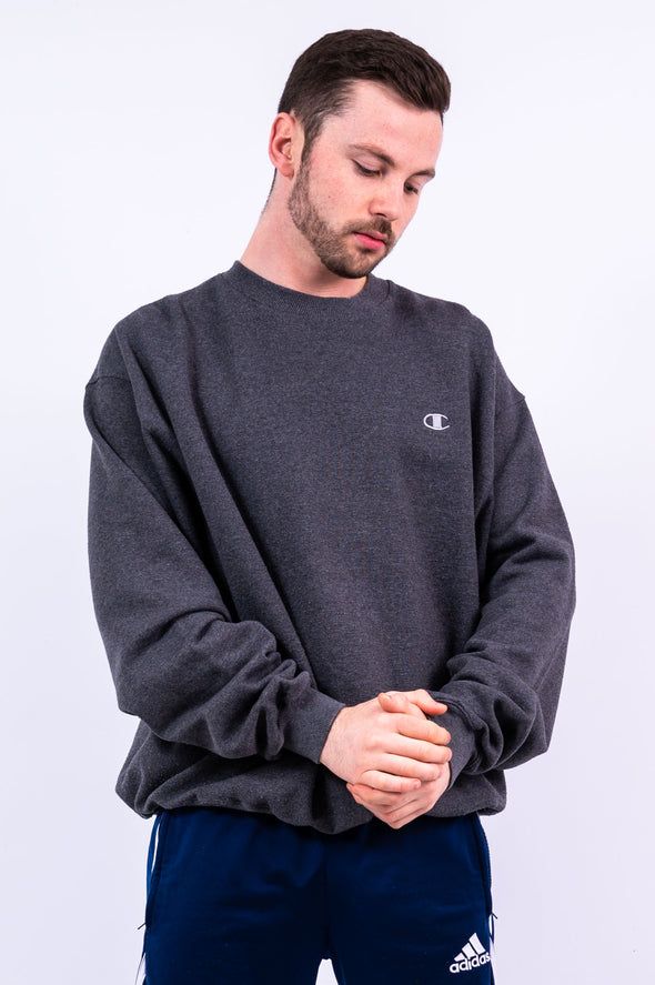 90's Vintage Champion Grey Sweatshirt