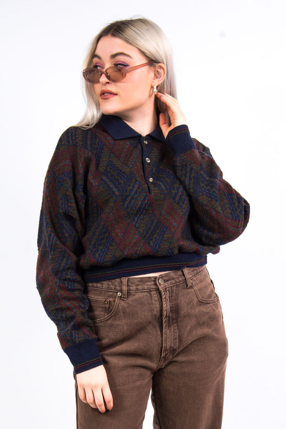 Vintage 90's Crop Knit Jumper