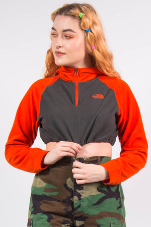 The North Face 1/4 Zip Cropped Fleece