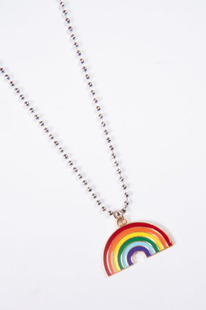 Cute Rainbow Stacker Necklace