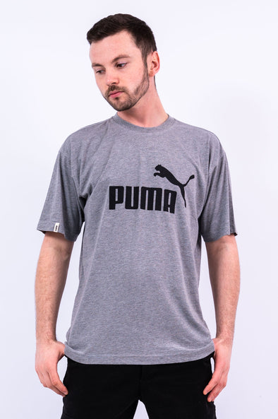 90's Vintage Puma Spell Out T-Shirt