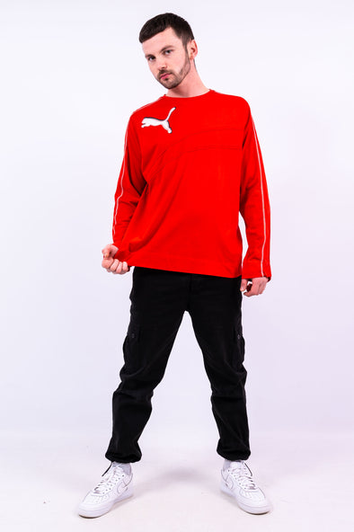 00's Puma Long Sleeve T-Shirt