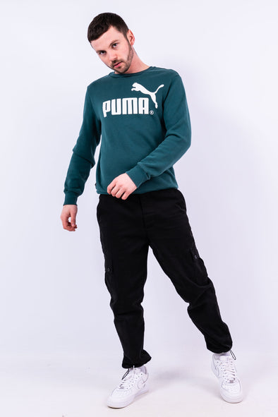 00'S Puma Graphic Logo Sweatshirt