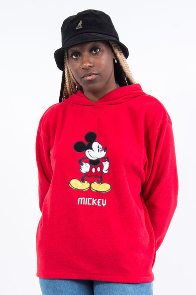Vintage 90's Disney Mickey Mouse Fleece Hoodie