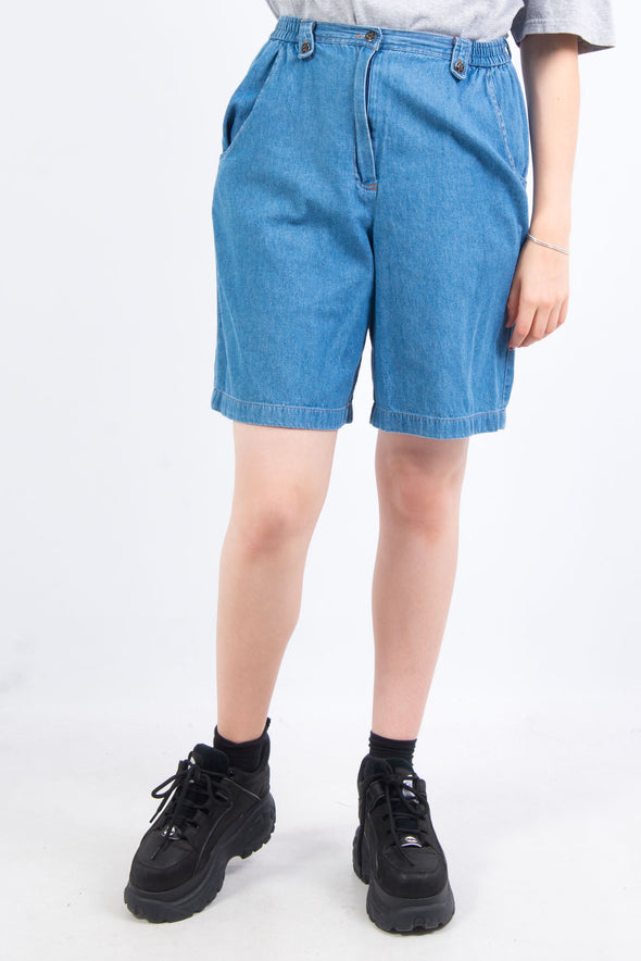 Vintage 90's High Waist Denim Mom Short