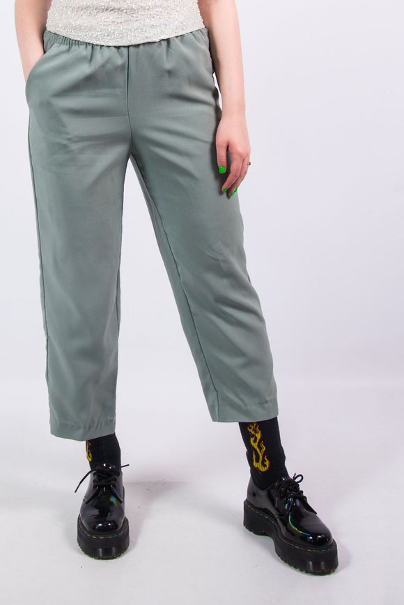 Vintage 90's Sage High Waist Trousers