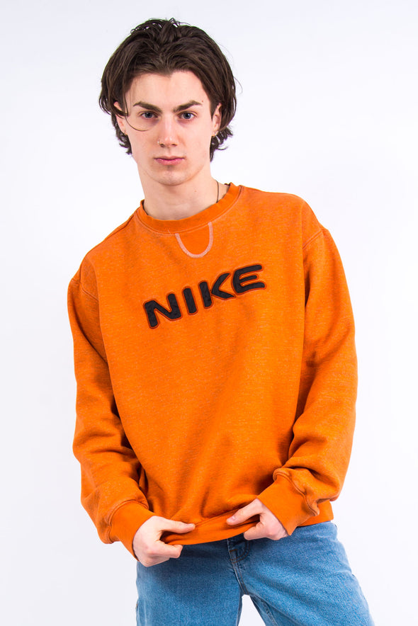00's Vintage Nike Spell Out Sweatshirt