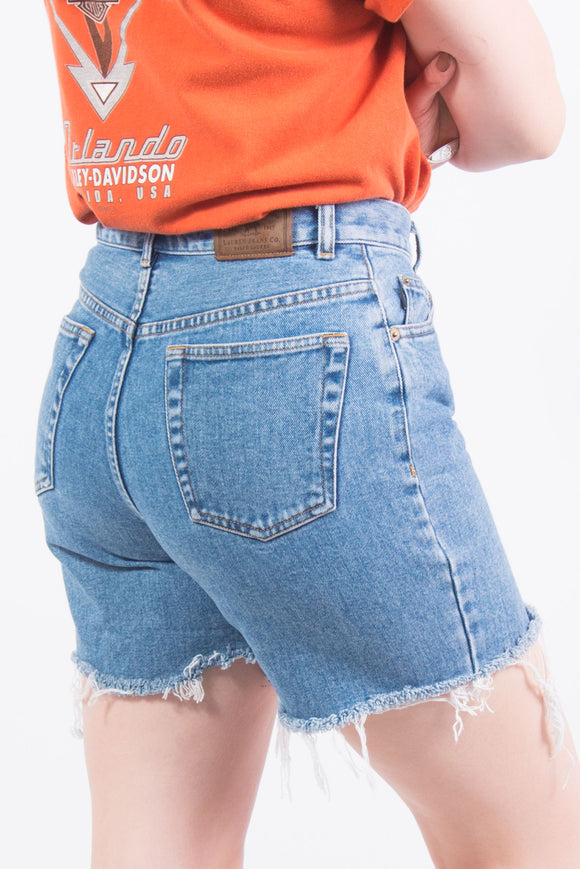 Vintage Ralph Lauren Denim Mom Shorts
