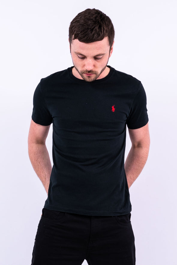 Ralph Lauren Black Crew Neck T-Shirt
