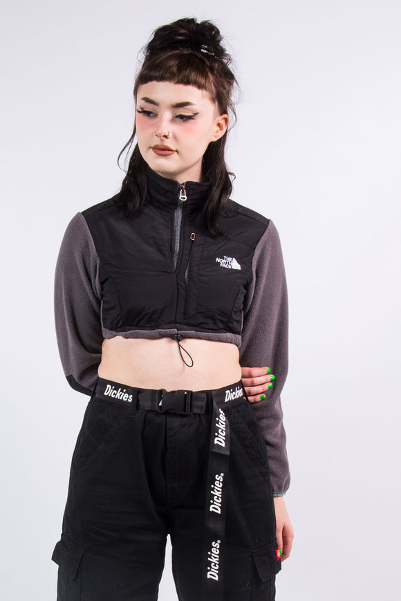 Vintage The North Face Denali Cropped Fleece