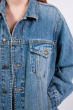 Vintage 90's Blue Oversize Denim Jacket