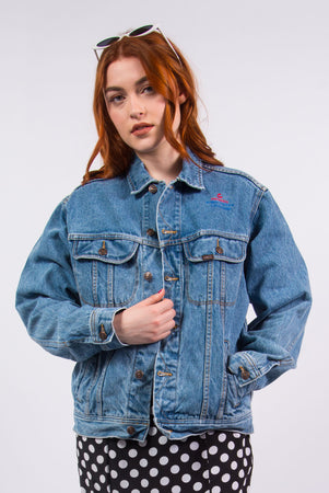 Lee Vintage 90's Blue Denim Jacket