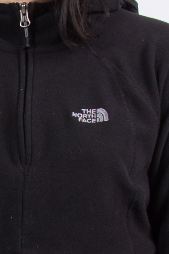 Vintage The North Face Cropped 1/4 Zip Fleece