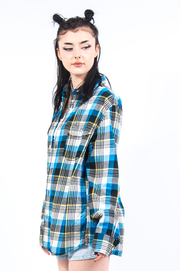 Vintage 90's Check Flannel Shirt