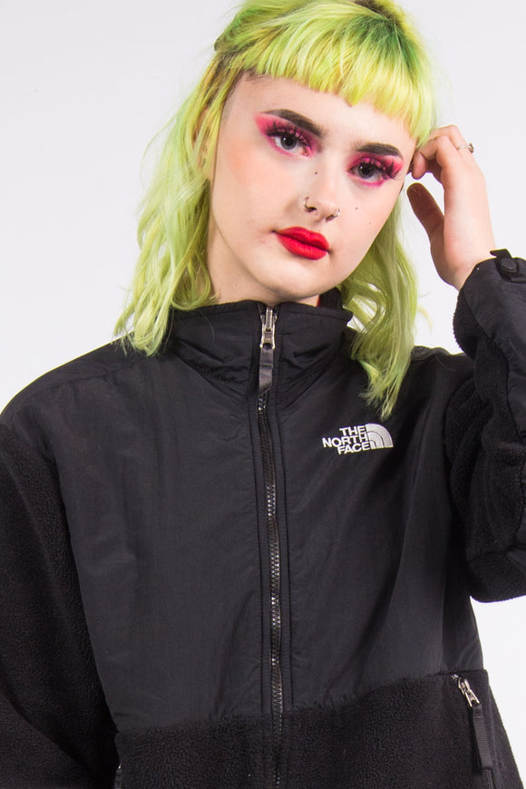Vintage The North Face Denali Black Fleece Jacket