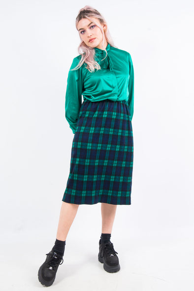 Vintage 80's Tartan Dress