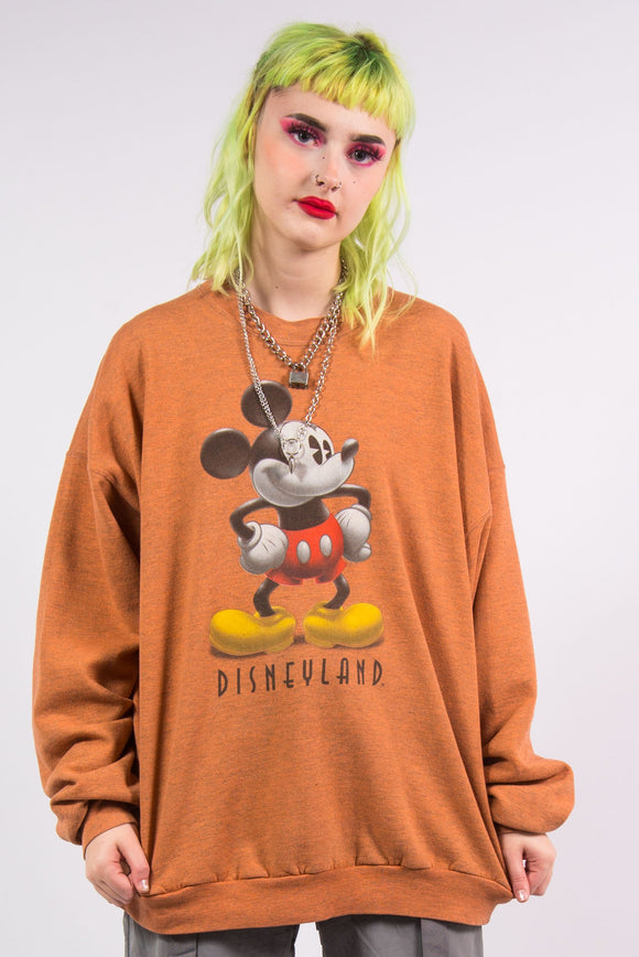Vintage 90's Mickey Mouse Disneyland Resort Sweatshirt