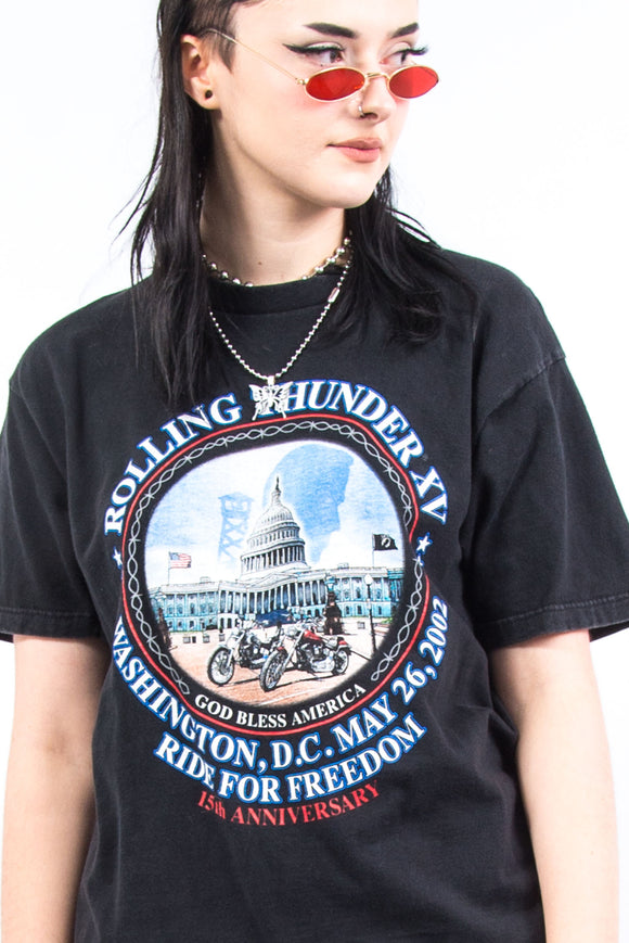 Vintage Harley Davidson Washington T-Shirt