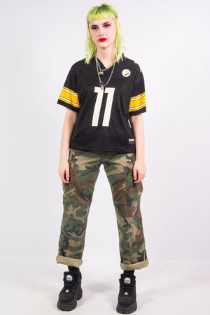 Vintage 90's NFL Pittsburgh Steelers Jersey Top
