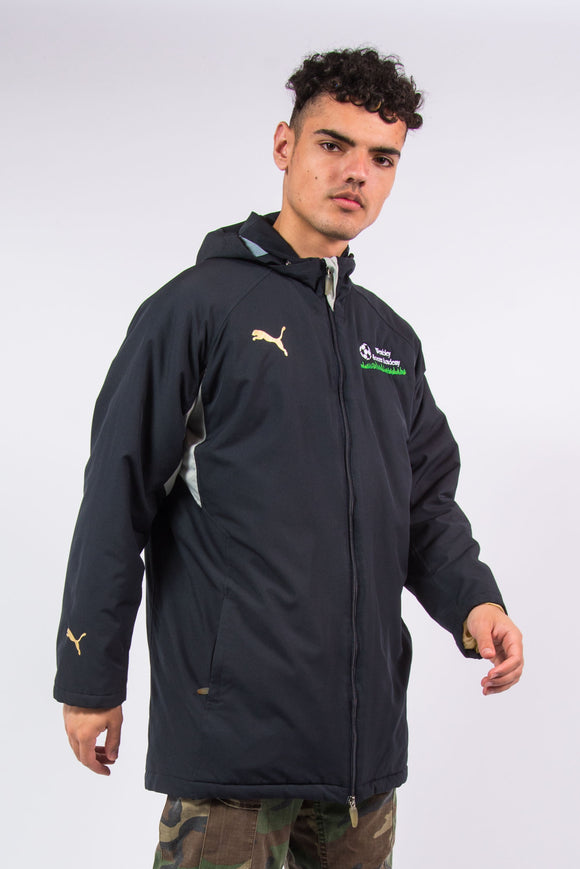 Puma Football Manager Coat Wembley Soccer Academy