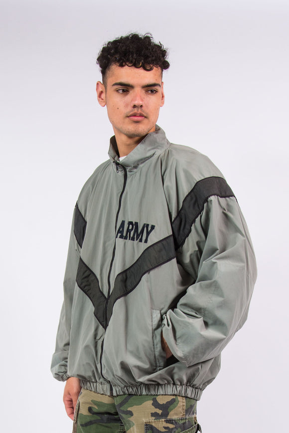 U.S Army Military Issue Windbreaker Jacket Tracksuit Top