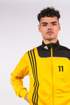 Adidas Y2K Tracksuit Top Jacket Yellow And Black