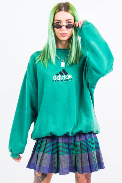 Vintage 90's Adidas Equipment Sweatshirt