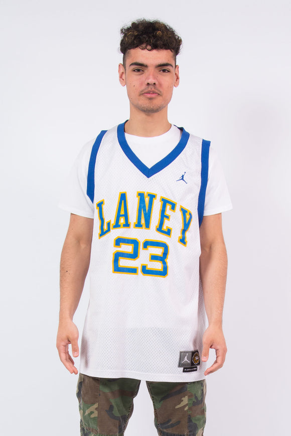 Vintage Nike Jordan Laney High School basketball Jersey Throwback