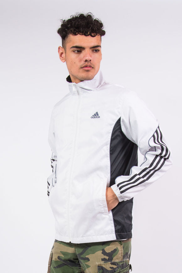 00'S Y2K Adidas Tracksuit Top Windbreaker Jacket