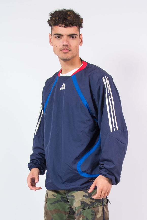 Vintage Y2K Adidas Windbreaker Training Top