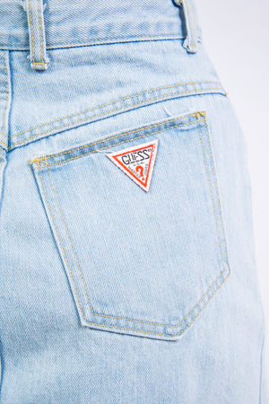 Vintage 90's Guess Denim Pencil Skirt