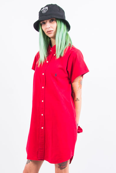 Vintage Rework Ralph Lauren Shirt Dress