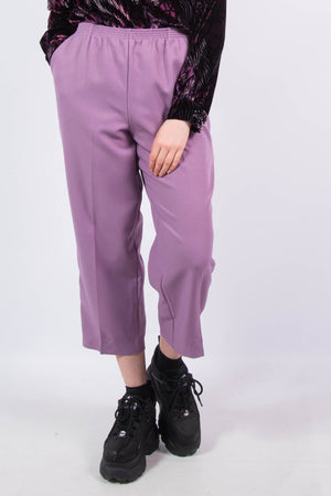 Vintage 90's Lilac High Waist Trousers
