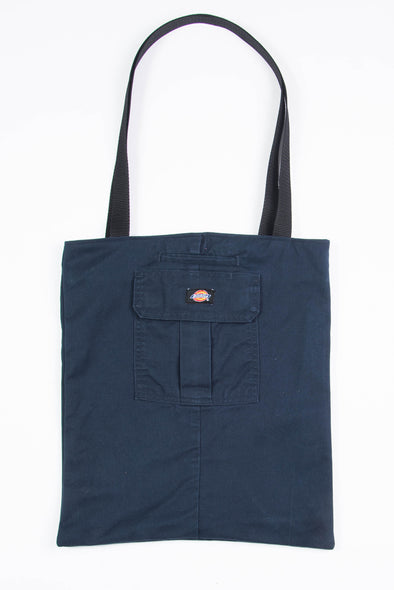 Dickies Blue Canvas Tote Bag