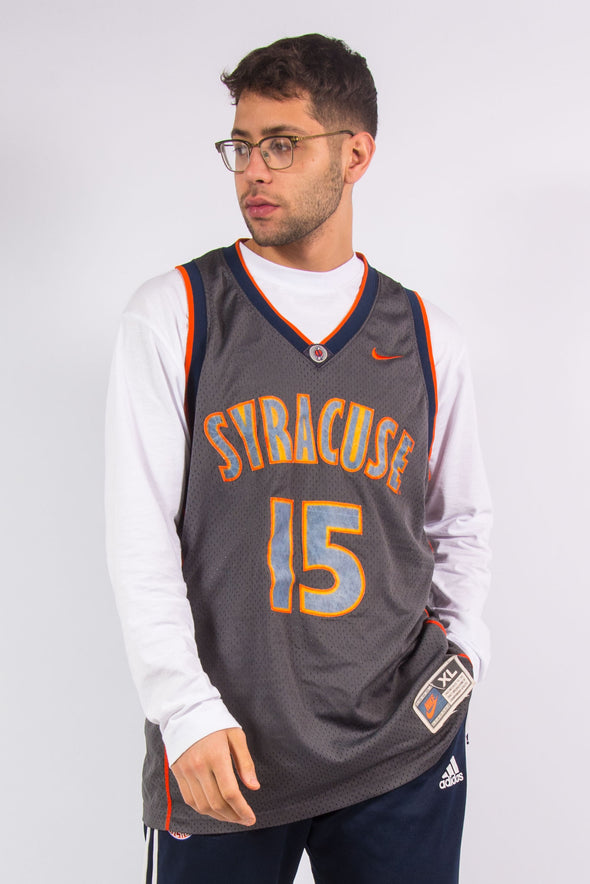 Nike Syracuse USA College Basketball Jersey Vest