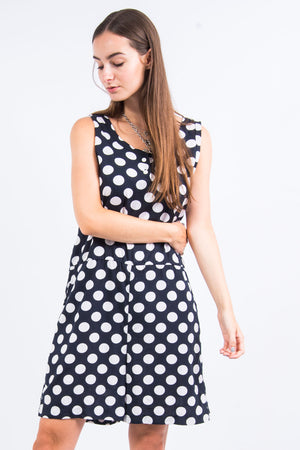 Vintage 90's Polka Dot Playsuit