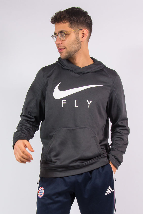 Nike Dri FIt Grey Sports Hoodie