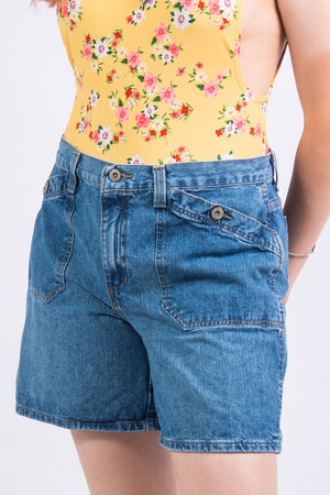 Vintage 90's High Waist Denim Shorts