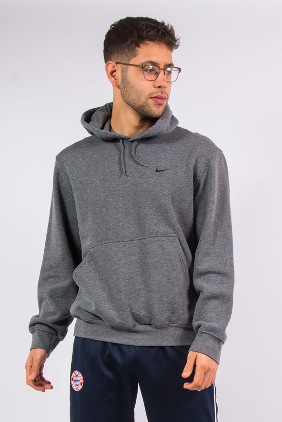 Vintage Nike classic grey hooded sweatshirt