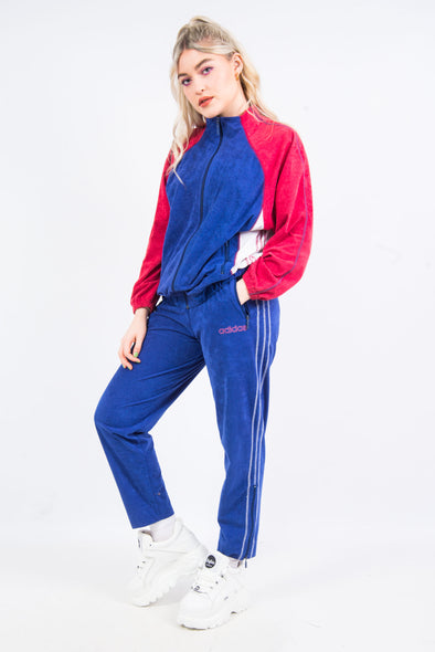 Vintage 90's Adidas Tracksuit Set Jacket & Trousers