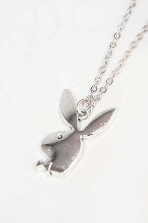Y2K Playboy Bunny Necklace