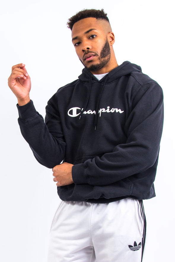 Champion Spell Out Logo Hoodie
