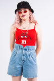 Vintage 90's Denim High Waist Shorts