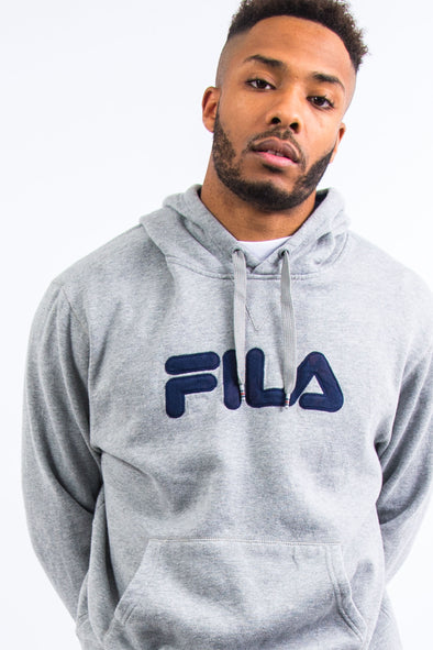 Fila Spell Out Logo Hoodie