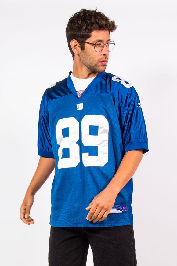 Vintage Reebok New York Giants NFL jersey with #89 Kevin Boss on back