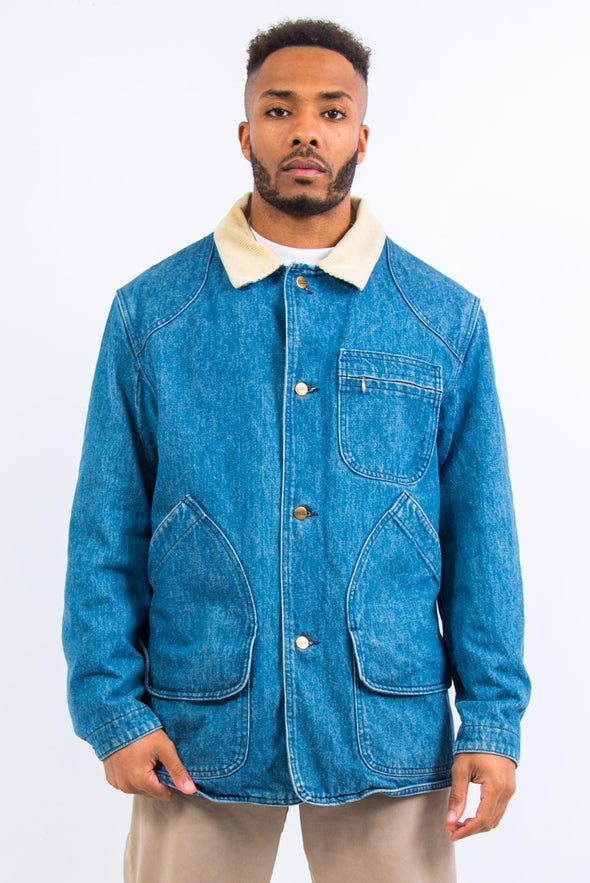Vintage L.L. Bean Denim Chore Jacket