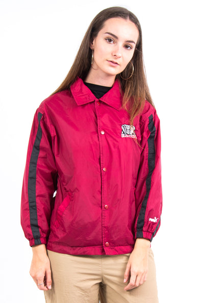 Vintage 90's Puma Alabama Crimson Tide Coach Jacket
