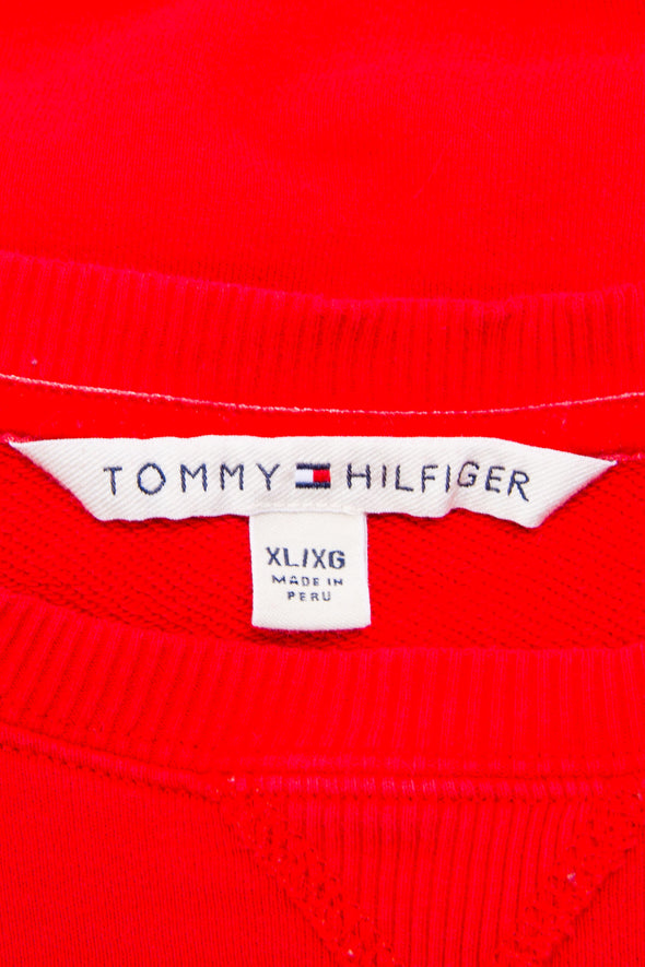 Vintage Tommy Hilfiger Diamante Spell Out Sweatshirt