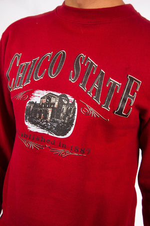 Vintage Chico State University Sweatshirt